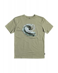 Quiksilver Waterman Still Waters t-shirt με τύπωμα EQMZT03209