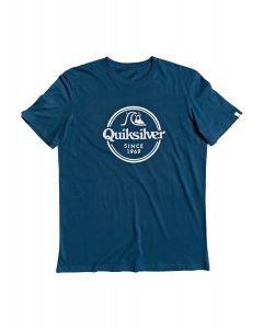 Quiksilver Words Remain t-shirt με τύπωμα EQYZT05753
