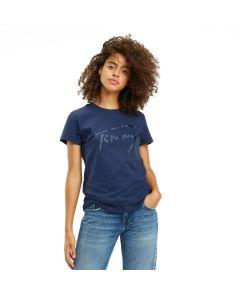 Tommy Hilfiger μπλούζα κοντομάνικη DW0DW05718