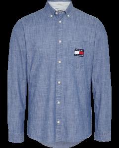 Tommy Hilfiger Chambray Badge πουκάμισο DM0DM07922