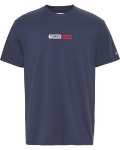 Tommy Hilfiger Embroidered Box Logo t-shirt DM0DM07868