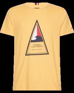 Tommy Hilfiger Cool Triangle t-shirt με τύπωμα MW0MW13355