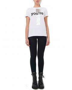Ale μπλούζα κοντομάνικη με τύπωμα 8911347