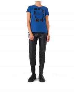 Ale μπλούζα κοντομάνικη με παγιέτες 8912355