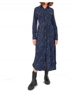 Ale φόρεμα εμπριμέ σεμιζιέ 8911988