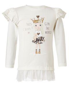 Energiers μπλούζα μακρυμάνικη με βολάν 15-119336-5
