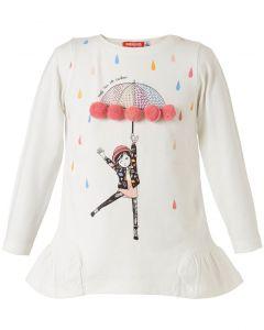Energiers μπλούζα μακρυμάνικη με pon pon 15-119316-5