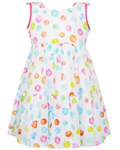 Energiers φόρεμα αμάνικο πουά 15-220312-7