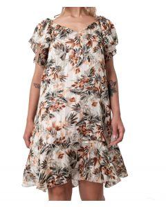 Helmi φόρεμα mini με βολάν 45-05-247