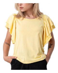 Helmi μπλούζα κοντομάνικη με βολάν 45-03-135
