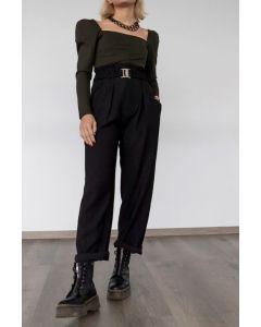 Helmi παντελόνι με πιέτες 46-04-018