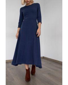 Helmi φόρεμα midi 3/4 μανίκι 46-05-224