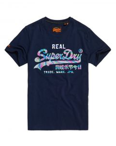 Superdry Vintage Logo Multi Colour t-shirt κοντομάνικο M10109ST