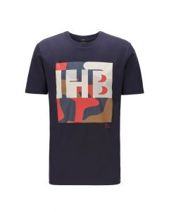 Hugo Boss Tiburt 161 t-shirt με τύπωμα 50426065