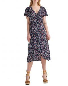Attrattivo φόρεμα floral κρουαζέ 9911282