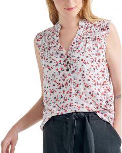 Attrattivo μπλούζα αμάνικη floral 9911175