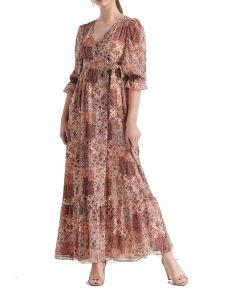Attrattivo φόρεμα maxi κρουαζέ 91225783