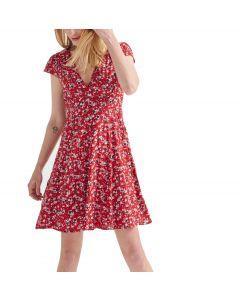 Attrattivo φόρεμα κοντομάνικο floral 9911163
