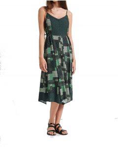 Attrattivo φόρεμα midi με τιραντάκι 91571863