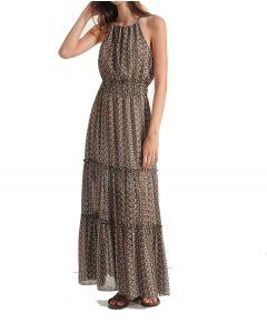 Attrattivo φόρεμα μακρύ floral 91547922