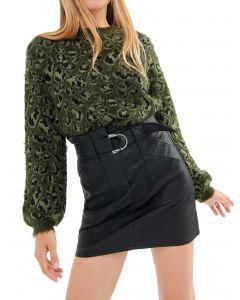 Attrattivo φούστα mini δερματίνη 9911853