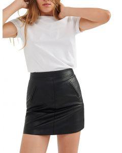 Attrattivo φούστα mini δερματίνη 9911856