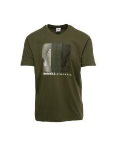 Russel Striped t-shirt με τύπωμα A0085-1