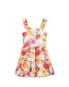 Mayoral φόρεμα με τιράντα floral  20-06981