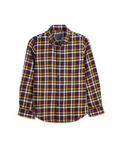 Mayoral πουκάμισο μακρυμάνικο καρό 10-07131