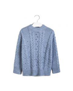 Mayoral μπλούζα πλεκτή μακρυμάνικη 10-07325