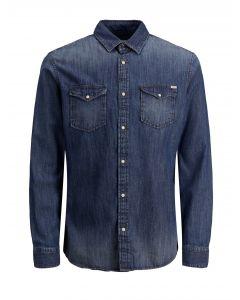 Jack & Jones πουκάμισο τζιν 12138115