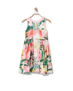 Desigual Morelia φόρεμα αμάνικο με δαντέλα 20SGVK30